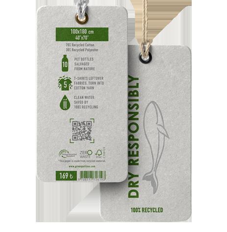 GREEN PETITION HANGTAGS