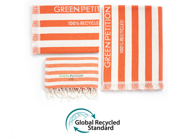 global recycled standart towels
